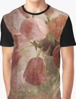 peach tulips Graphic T-Shirt
