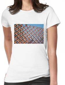 Geometrical Ice Patterns Womens Fitted T-Shirt