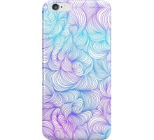 Blue and Purple Swirls iPhone Case/Skin