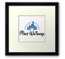 Walt Whiskey Framed Print
