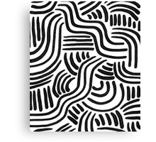 Line Art Series 2-2 Canvas Print