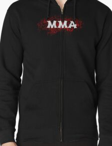 MMA  Zipped Hoodie