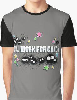 Spirited Soot Graphic T-Shirt