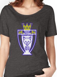 Leicester City Champions Women's Relaxed Fit T-Shirt