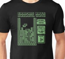 Graphic arts tetris Unisex T-Shirt