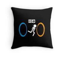 Portal 2 Throw Pillow