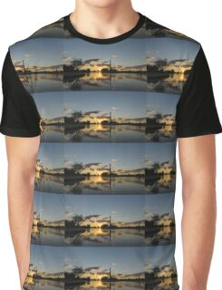Fire in the Sky - Skyscrapers and the Beaches Marina Graphic T-Shirt