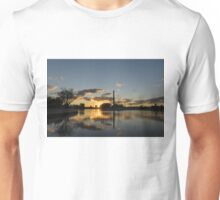 Fire in the Sky - Skyscrapers and the Beaches Marina Unisex T-Shirt