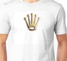 A king wears a gold crown Unisex T-Shirt
