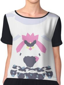 Diancie's Power Chiffon Top