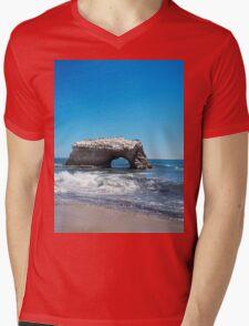 California Coast Mens V-Neck T-Shirt
