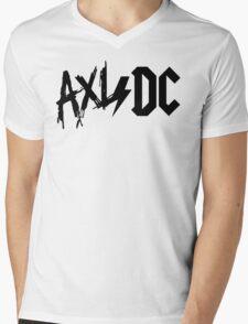 Axl/DC (Logo) Mens V-Neck T-Shirt