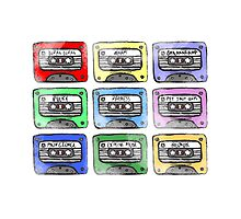 80's Tape Cassettes by Redsdesign
