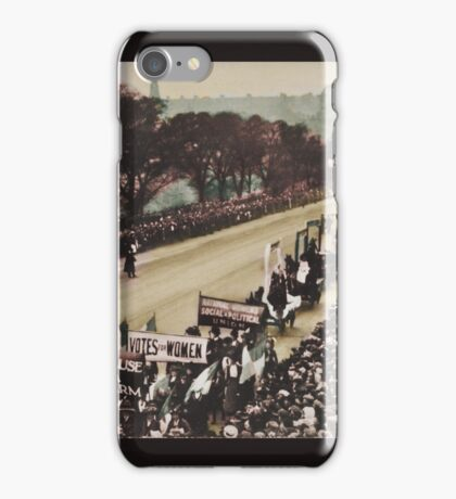 Great Procession and Demonstration Edinburgh iPhone Case/Skin