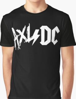 Axl/Dc (White Logo) Graphic T-Shirt