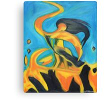 Dancing Fire - Sequel Canvas Print