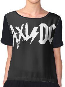 Axl/Dc (White Logo) Women's Chiffon Top