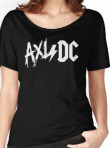 Axl/Dc (White Logo) Women's Relaxed Fit T-Shirt