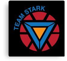 "Team Stark ""civil war"" Canvas Print"