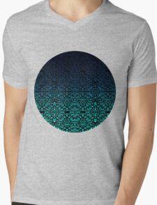 Damask Style Inspiration Mens V-Neck T-Shirt