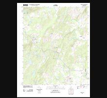 USGS TOPO Map Alabama AL Vincent 20110928 TM Unisex T-Shirt