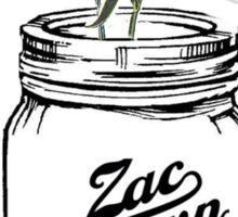 Zac Brown Band Mason Jar Sticker