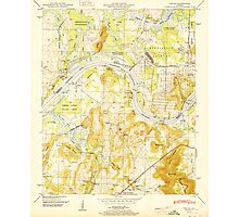 USGS TOPO Map Alabama AL Triana 305235 1951 24000 Photographic Print