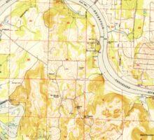 USGS TOPO Map Alabama AL Triana 305235 1951 24000 Sticker