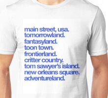 Happiest Place on Earth Unisex T-Shirt