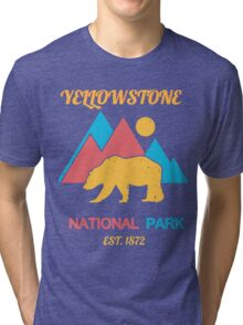 YELLOWSTONE Tri-blend T-Shirt