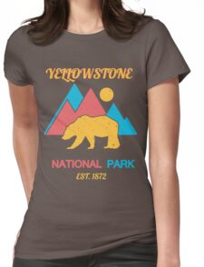 YELLOWSTONE Womens Fitted T-Shirt