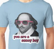 Shakespeare - 'You are a saucy boy' alternate text Unisex T-Shirt