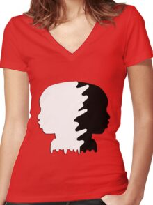 Passing Women's Fitted V-Neck T-Shirt