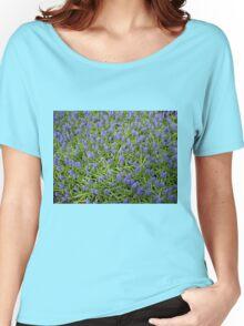 Blue Muscari - Keukenhof Gardens Women's Relaxed Fit T-Shirt