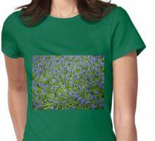 Blue Muscari - Keukenhof Gardens Womens Fitted T-Shirt