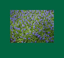 Blue Muscari - Keukenhof Gardens Womens Fitted T-Shirt
