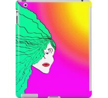 Lady Green Psychedelic iPad Case/Skin