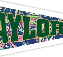 Baylor University Sticker