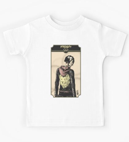 Strength - Sinking Wasteland Tarot Kids Tee