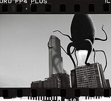Melbourne Monsters by Designosaur