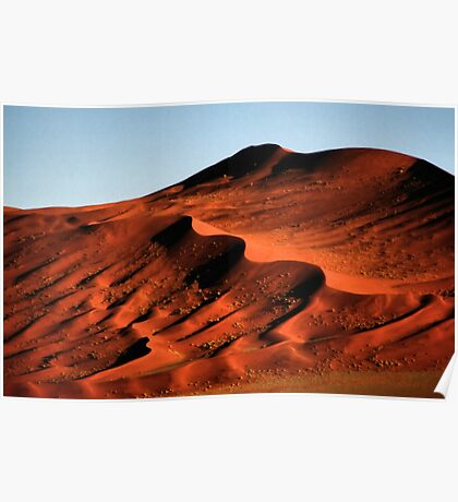 Detailed Dunes, Namibia  Poster