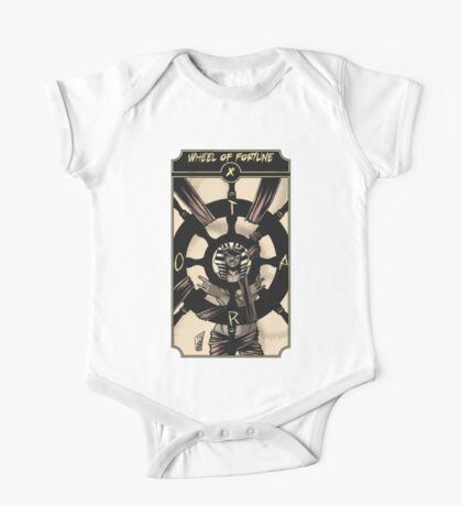 Wheel of Fortune - Sinking Wasteland Tarot One Piece - Short Sleeve