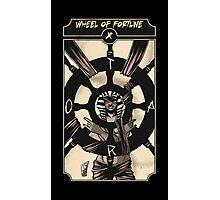 Wheel of Fortune - Sinking Wasteland Tarot Photographic Print