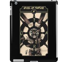 Wheel of Fortune - Sinking Wasteland Tarot iPad Case/Skin