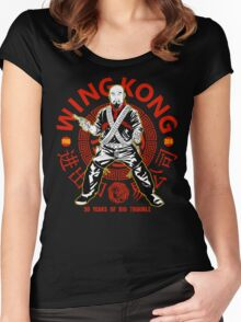 Big Trouble in Little China - Wing Kong Exclusive Women's Fitted Scoop T-Shirt