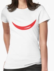 Electrode Womens Fitted T-Shirt