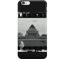 Pooch on the steps iPhone Case/Skin