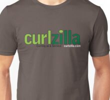 Curlzilla - Curling as a Service Logo Unisex T-Shirt