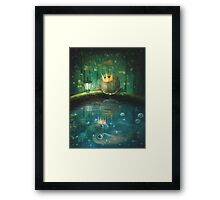 Crown Prince Framed Print