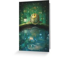 Crown Prince Greeting Card